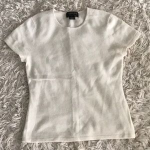 Sweaters - Cashmere Short Sleeve Sweater